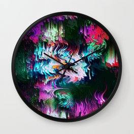 Tale of Distraction Wall Clock