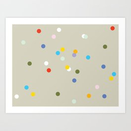 a spot of dots Art Print