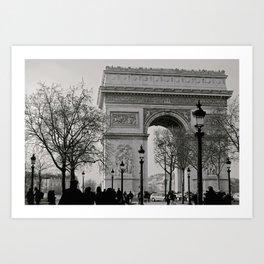 Arc De Triomphe - Paris Art Print