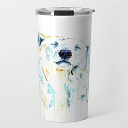 Polar Bear Unconditional Love Travel Mug