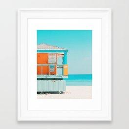 Santa Monica / California Framed Art Print