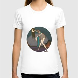 She Who Fishes Corpses from the River T-shirt