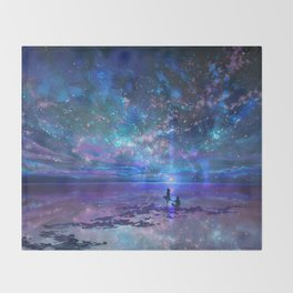 Ocean, Stars, Sky, and You Throw Blanket