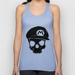 Mario fan til I die Unisex Tank Top