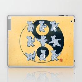 Koala Bear Tai Chi Moves Laptop & iPad Skin