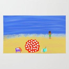 Bliss on the Beach! Rug