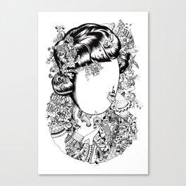 The Sugarcane Lady Canvas Print