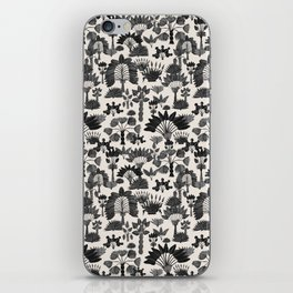 Exotic Garden Gray iPhone Skin