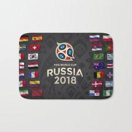 Russia 2018 Bath Mat