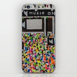 Music On Ibiza iPhone Skin