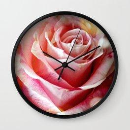 Delicate Rose Wall Clock