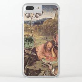 JOHN HATES ASPIC Clear iPhone Case