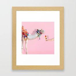 Ice cream for Two Framed Art Print