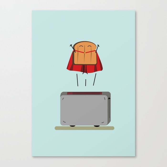 Supertoast! Canvas Print