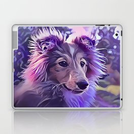 Shetland Sheepdog Puppy Laptop & iPad Skin
