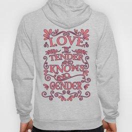 love - Gay Pride T-Shirt Hoody