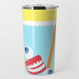 Tooth Brush Travel Mug