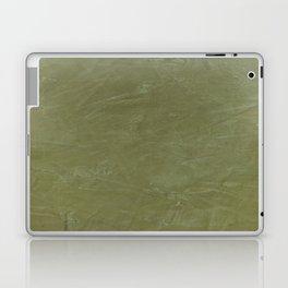 Italian Style Tuscan Olive Green Stucco - Luxury - Comforter - Bedding - Throw Pillows - Rugs Laptop & iPad Skin