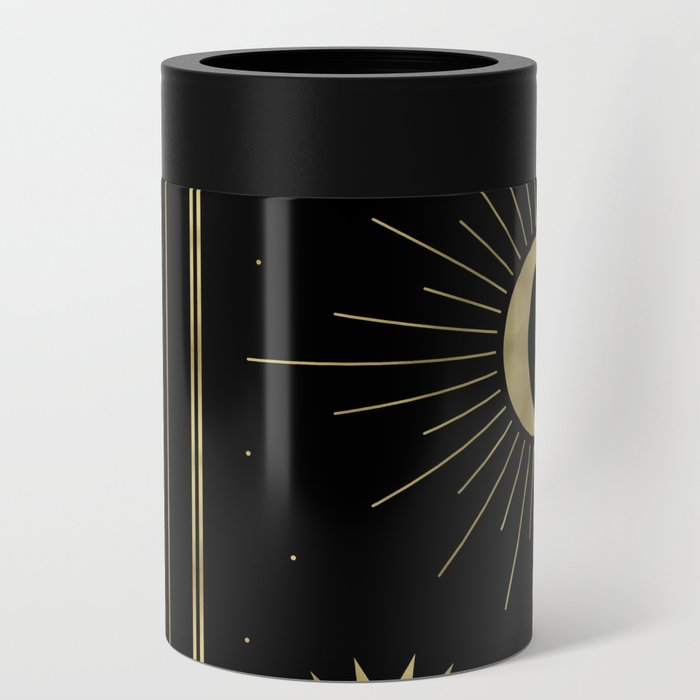 The Moon or La Lune Gold Edition Can Cooler