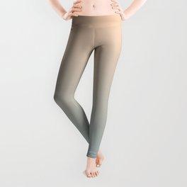 HALF MOON - Minimal Plain Soft Mood Color Blend Prints Leggings