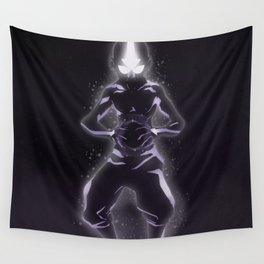 Master of all Four Elements Wall Tapestry