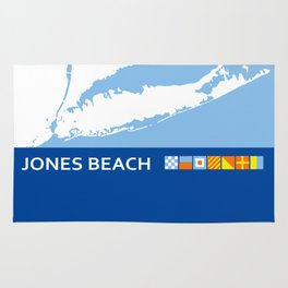 Jones Beach - New York. Rug