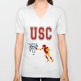 USC Football Unisex V-Neck