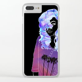 Graphic tee Clear iPhone Case