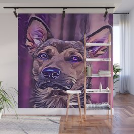 The Kunming Wolf Dog Wall Mural