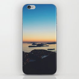 Dubrovnik Sunset iPhone Skin