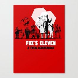 Fox's Eleven Canvas Print