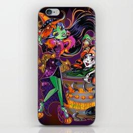 Halloween Trick or Treat iPhone Skin