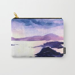Watercolour Landscape Scotland Loch Lomond Carry-All Pouch