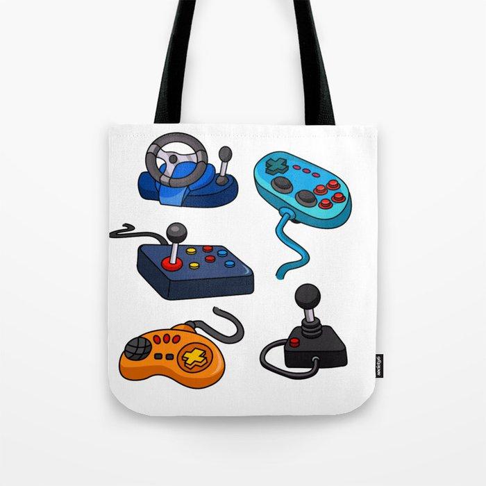 Video Game  Controls Tote Bag