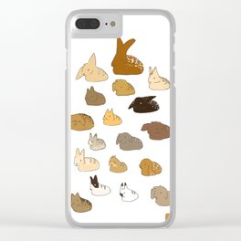 Bun Loafs Clear iPhone Case