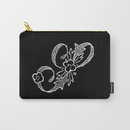 S Monogram Carry-All Pouch