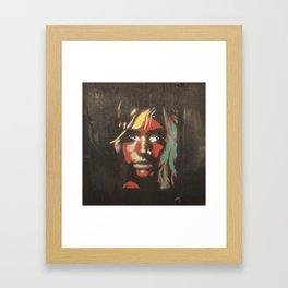 Street Girl  Framed Art Print