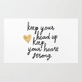 Keep Your Head Up Rug