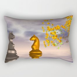 knight's dreamscape Rectangular Pillow