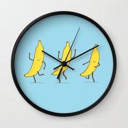 Banana shake Wall Clock