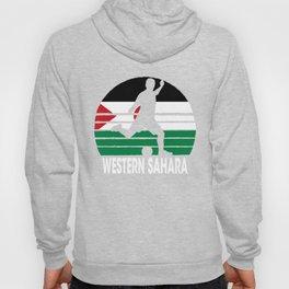 Western Sahara Soccer Football ESH Hoody