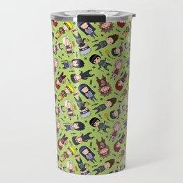 Naruto Pattern Jutsu Travel Mug