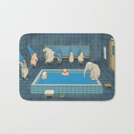 The Bathers Bath Mat