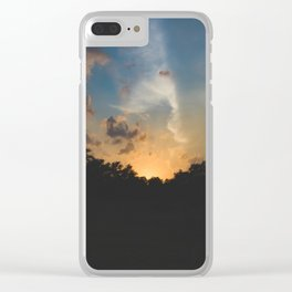 Another Texas Hill Country Sunset Clear iPhone Case