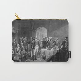 Washington Meeting His Generals Carry-All Pouch
