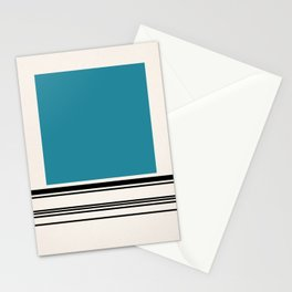 Code Teal Stationery Cards