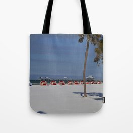 A November Day At Clearwater Beach Tote Bag