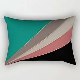 Abstract geometric pattern 3 Rectangular Pillow