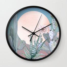 Desert Twilight by Nature Magick Wall Clock