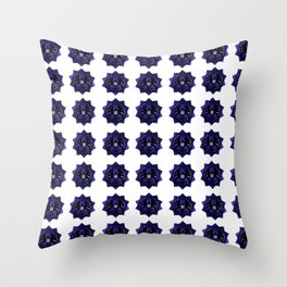 Shields Badge Background Throw Pillow